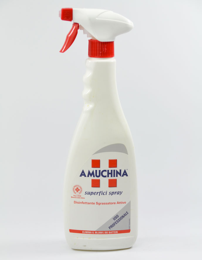 amuchina superficie spray